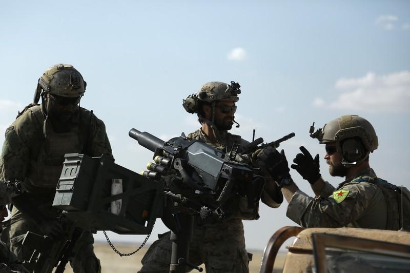 Quân Mỹ tại Syria có nguy cơ bị 'bắn nhầm' - ảnh 1