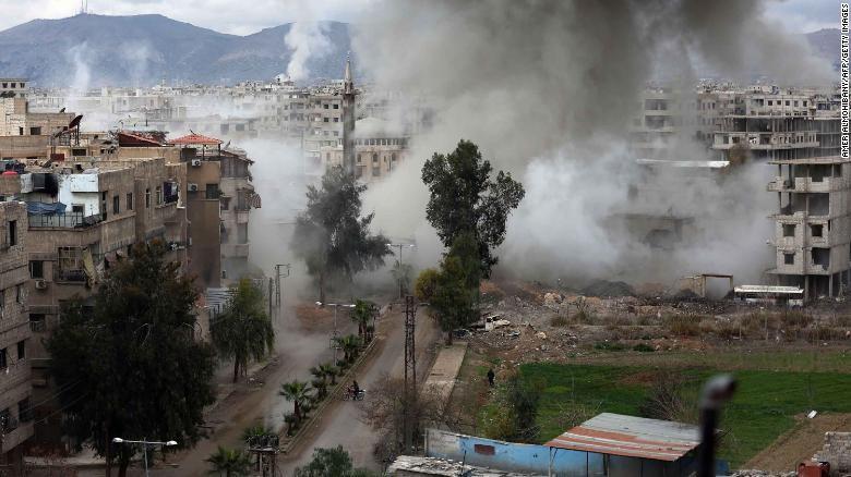 Mặc lệnh ngưng bắn, Syria mở đợt tấn công mới - ảnh 1