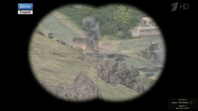 Đài Nga gắn clip game bắn súng mô tả chiến tranh Syria - ảnh 1