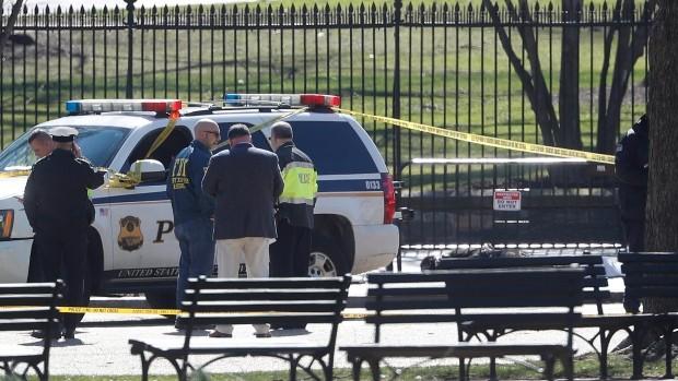 Người đàn ông nổ súng tự sát bên ngoài Nhà Trắng - ảnh 1