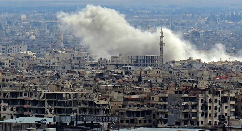 Phiến quân Syria đặt lệnh giới nghiêm ở Đông Ghouta - ảnh 1