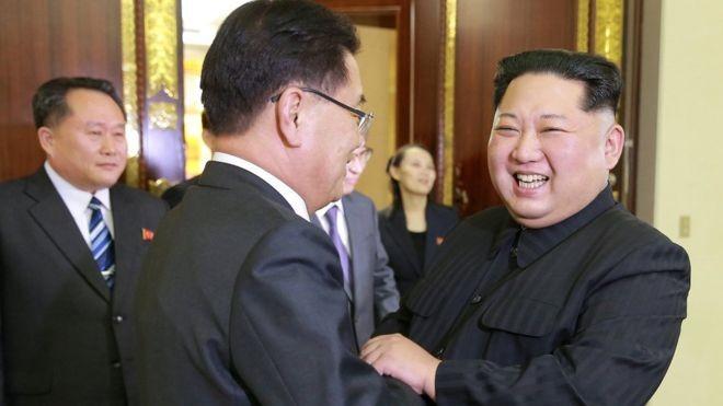 Ông Kim Jong-un muốn 'viết lịch sử mới' với Hàn Quốc - ảnh 1