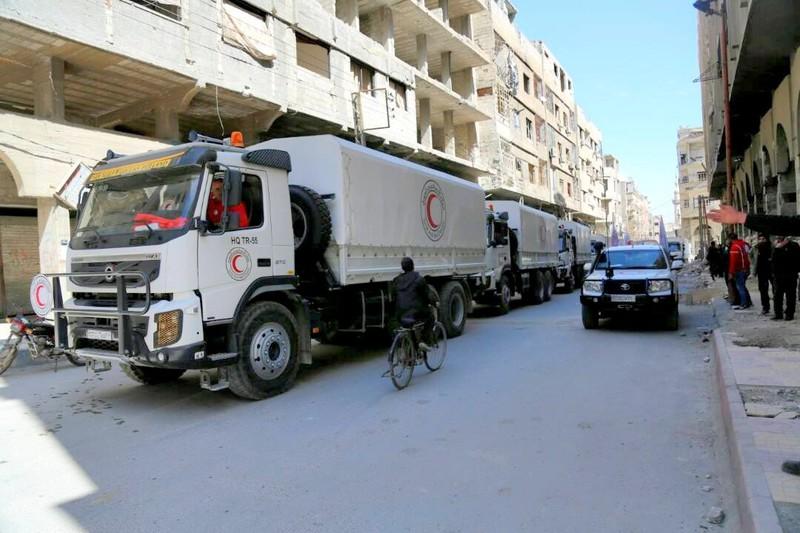 Phiến quân buông vũ khí, rời khỏi Đông Ghouta - ảnh 3