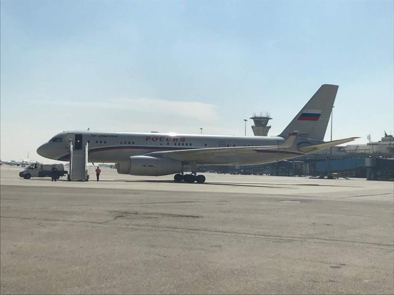 Máy bay chuyên chở quan chức VIP Nga đến Syria? - ảnh 1