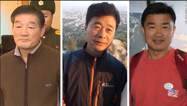 Triều Tiên trả tự do cho 3 công dân Mỹ - ảnh 1