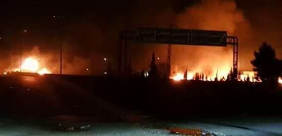 Israel báo động cao, nghi dội tên lửa căn cứ Iran ở Syria - ảnh 1
