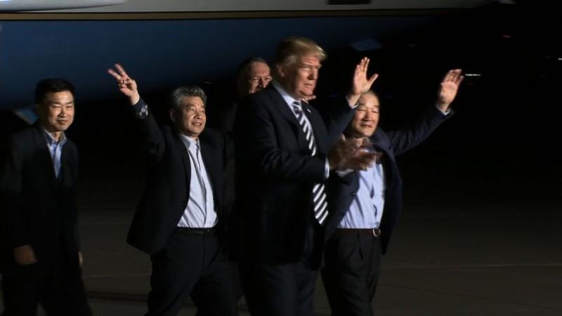 3 công dân Mỹ được Triều Tiên thả: 'Như một giấc mơ' - ảnh 3