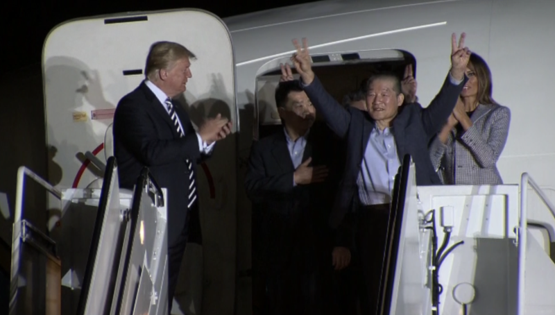 3 công dân Mỹ được Triều Tiên thả: 'Như một giấc mơ' - ảnh 1