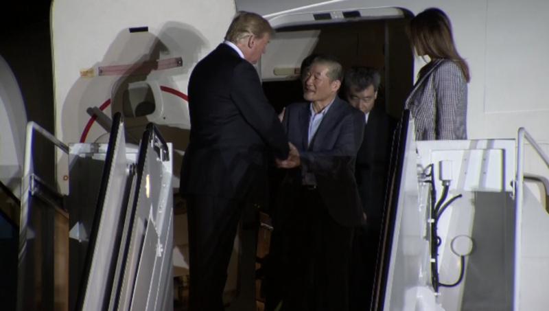 3 công dân Mỹ được Triều Tiên thả: 'Như một giấc mơ' - ảnh 2