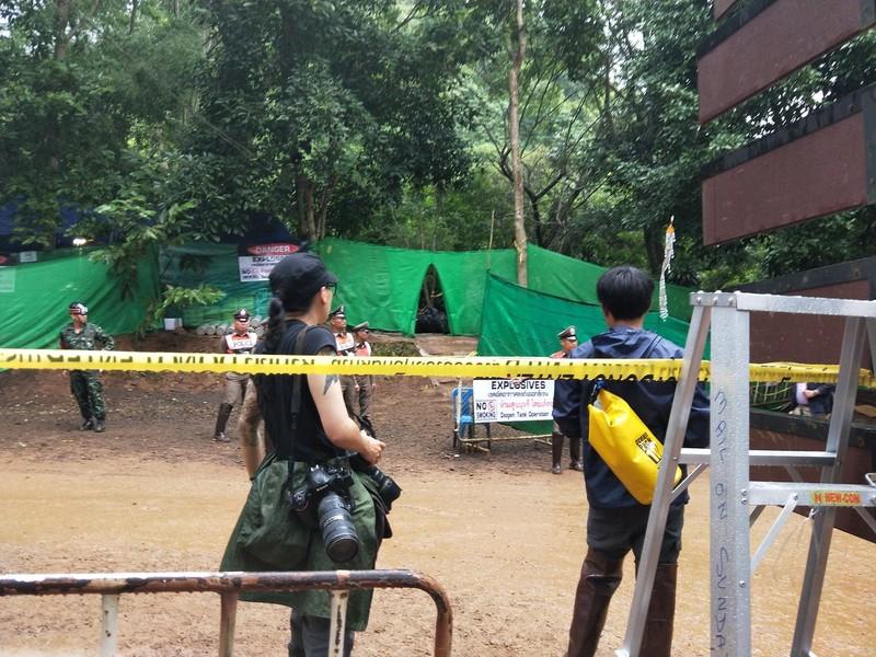 Thái Lan sơ tán hiện trường, chuẩn bị giải cứu đội bóng - ảnh 2