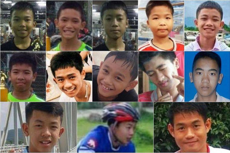 Các thành viên đội bóng nhí Thái Lan sụt 2 kg - ảnh 1