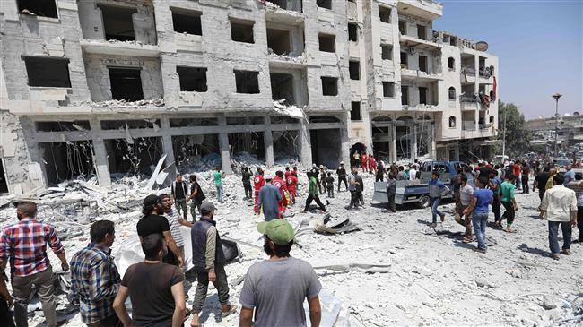 Các nhóm phiến quân liên thủ, chống chính phủ Syria tới cùng - ảnh 1
