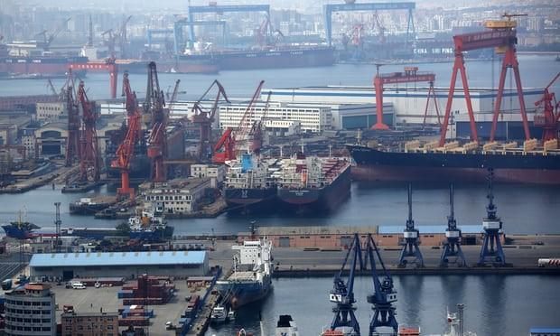 Tàu chở đậu tương Mỹ như 'lục bình trôi' ngoài khơi Trung Quốc - ảnh 1