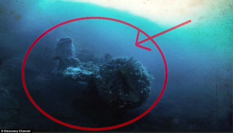 Phát hiện tàu người ngoài hành tinh dưới tam giác quỷ Bermuda? - ảnh 1