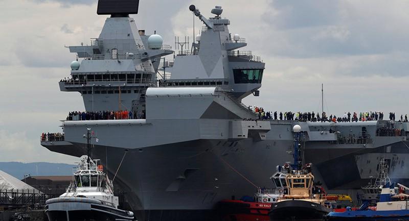 Anh đưa tàu chiến khủng tới Mỹ nhưng sợ Nga 'phá đám' - ảnh 1