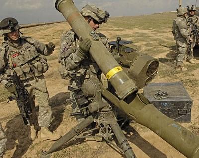 Nga trưng bày dàn vũ khí Mỹ chế tạo bị thu giữ ở Syria - ảnh 1