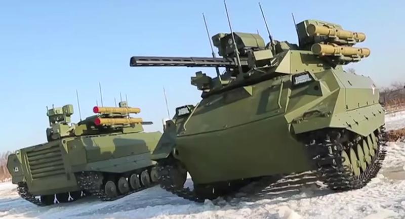 Nga ra mắt vũ khí mới: Robot chiến đấu cao 4 m, đi bằng 2 chân - ảnh 3