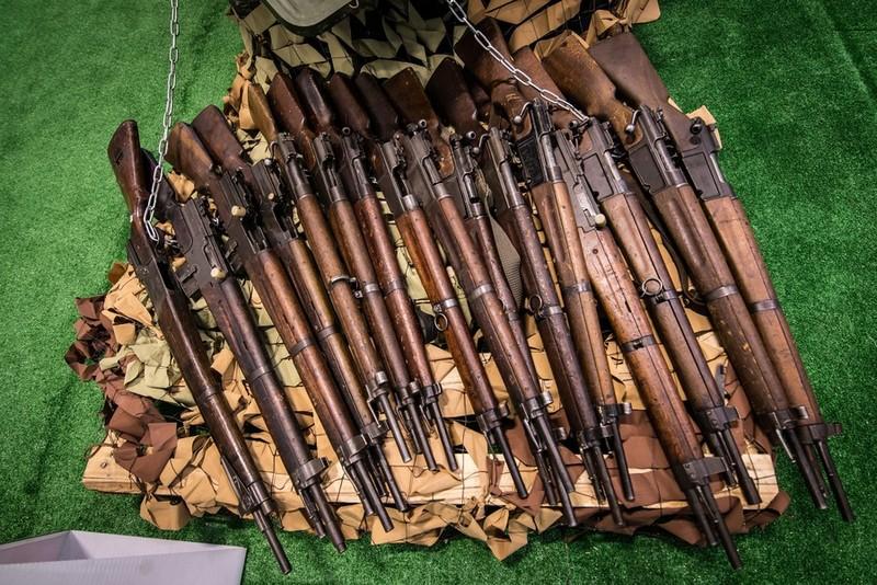 Nga trưng dàn chiến lợi phẩm có cả vũ khí Mỹ thu được ở Syria - ảnh 2