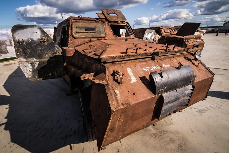 Nga trưng dàn chiến lợi phẩm có cả vũ khí Mỹ thu được ở Syria - ảnh 5