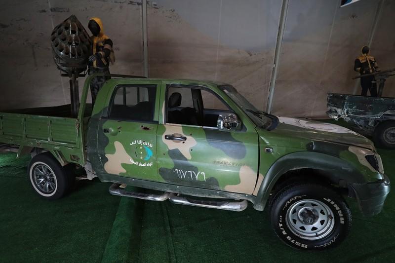 Nga trưng dàn chiến lợi phẩm có cả vũ khí Mỹ thu được ở Syria - ảnh 6