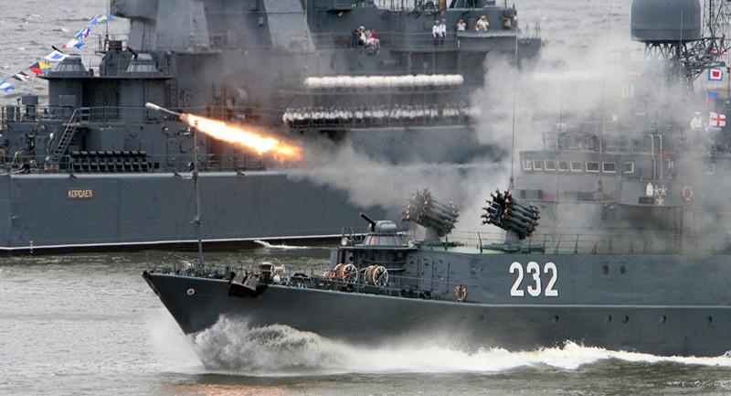 Nga tập trận lớn ở Địa Trung Hải giữa lúc Syria căng thẳng - ảnh 1