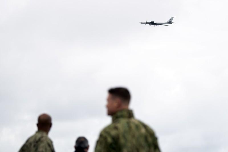 Máy bay Nga bất ngờ xuất hiện trong cuộc tập trận của NATO - ảnh 1