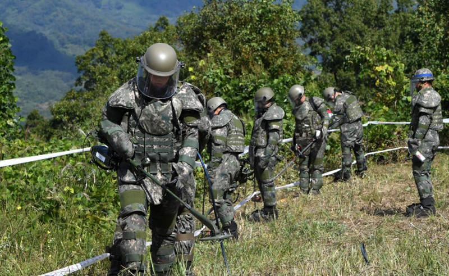 Binh sĩ Hàn Quốc ở khu biên giới Triều Tiên chết do trúng đạn  - ảnh 1