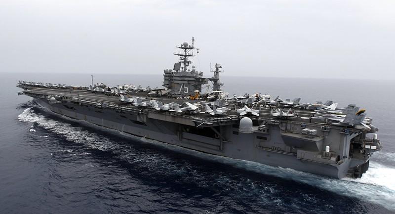 Tàu sân bay Mỹ bất ngờ tiến vào Địa Trung Hải - ảnh 1