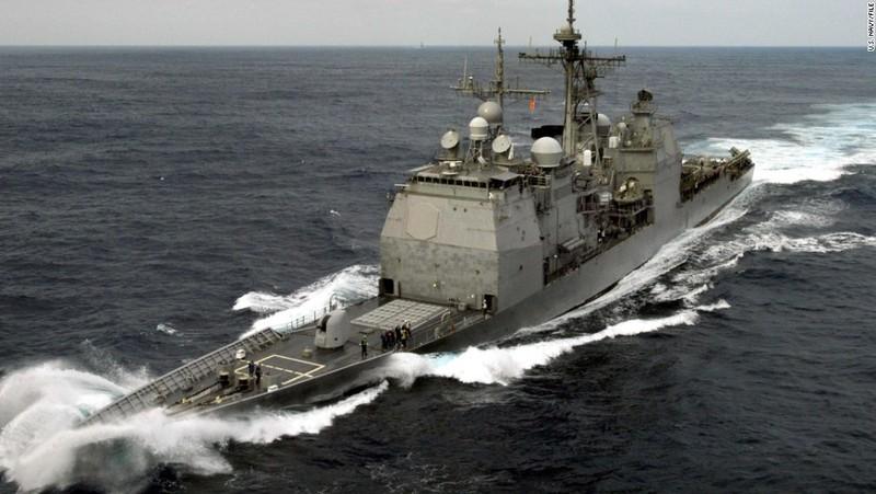 Mỹ điều tàu chiến áp sát quần đảo Hoàng Sa - ảnh 1