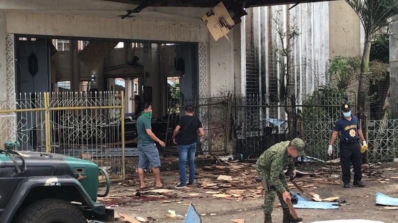 Đánh bom kép ở Philippines, 19 người chết - ảnh 1
