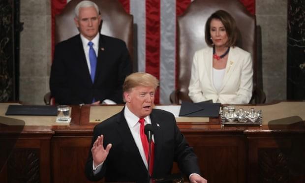 82 phút phát biểu thông điệp liên bang, ông Trump nói gì? - ảnh 1