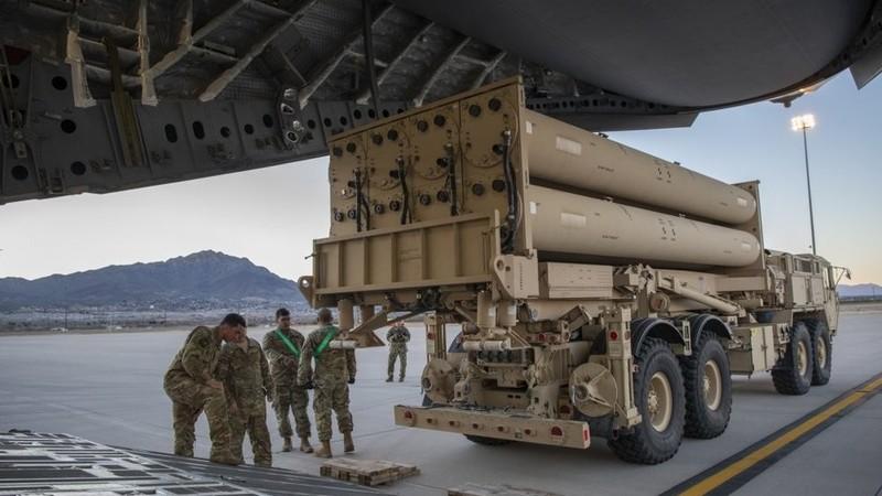 Mỹ lần đầu triển khai lá chắn tên lửa THAAD tới Israel - ảnh 1