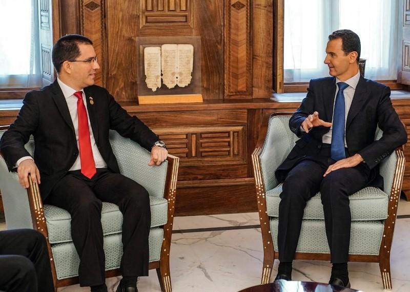Ông al-Assad: Khủng hoảng Venezuela tương tự nội chiến Syria - ảnh 1