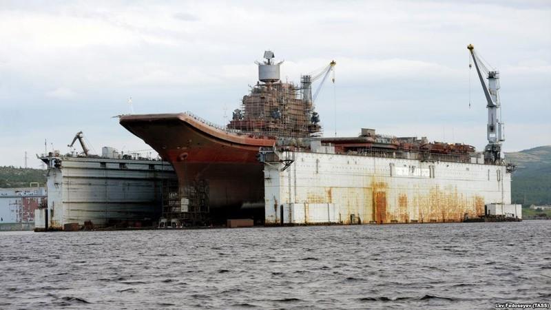Nga có thể 'khai tử' tàu sân bay duy nhất vì không sửa được - ảnh 2