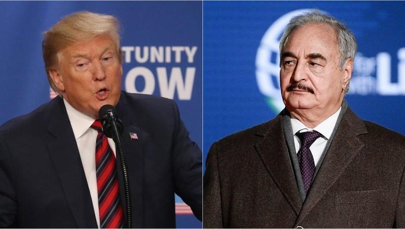 Libya: Ông Trump điện đàm ủng hộ tướng Haftar  - ảnh 1