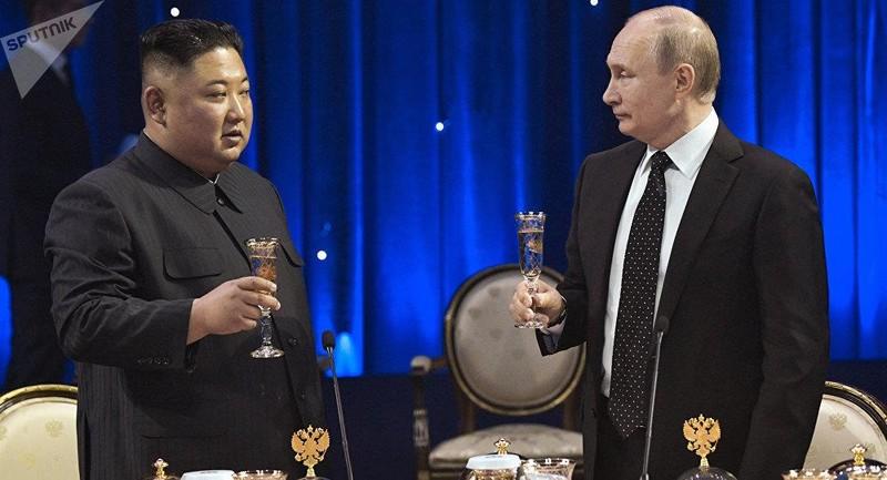 Ông Kim Jong-un mời ông Putin tới thăm Triều Tiên - ảnh 1