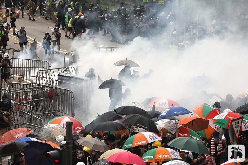 Ông Trump lên tiếng về cuộc biểu tình ở Hong Kong - ảnh 2