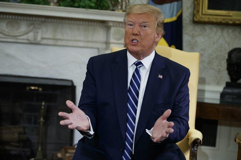 Ông Trump xác nhận hủy lệnh tấn công Iran trước 10 phút - ảnh 1