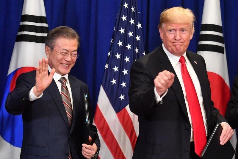Ông Trump dự kiến tới thăm khu phi quân sự liên Triều - ảnh 1
