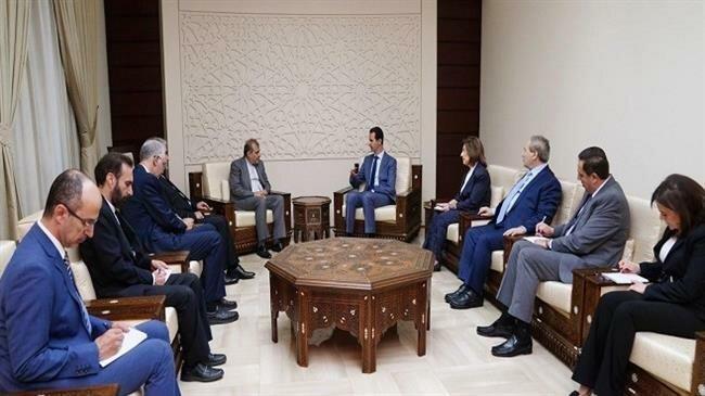 Ông Assad tuyên bố Syria sẽ sát cánh Iran chống mọi đe dọa - ảnh 1