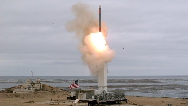 Mỹ thử tên lửa hành trình bắn trúng mục tiêu cách 500km - ảnh 1