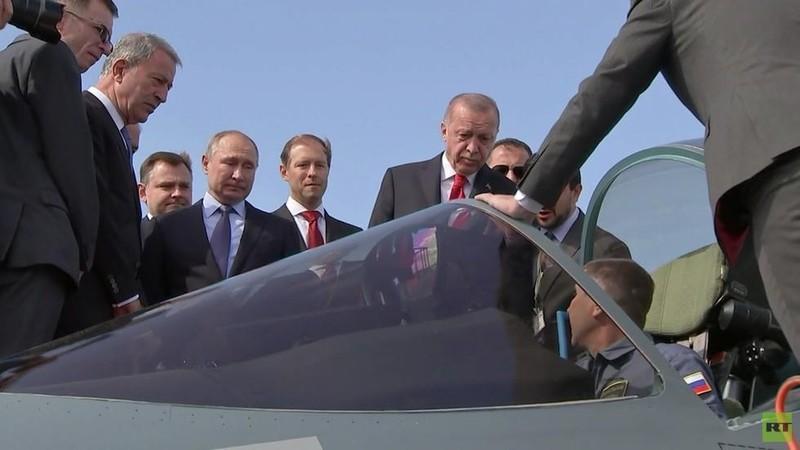Ông Erdogan hỏi mua tiêm kích Su-57, ông Putin đáp gì? - ảnh 1