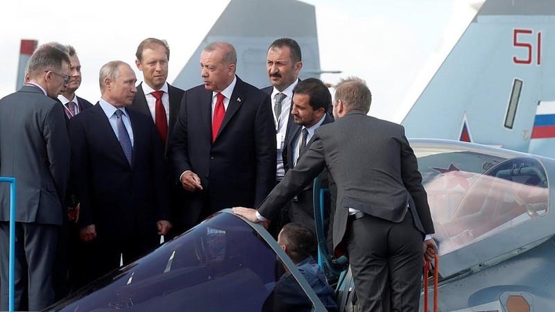 Thổ Nhĩ Kỳ đang đàm phán với Nga mua tiêm kích Su-57 - ảnh 1