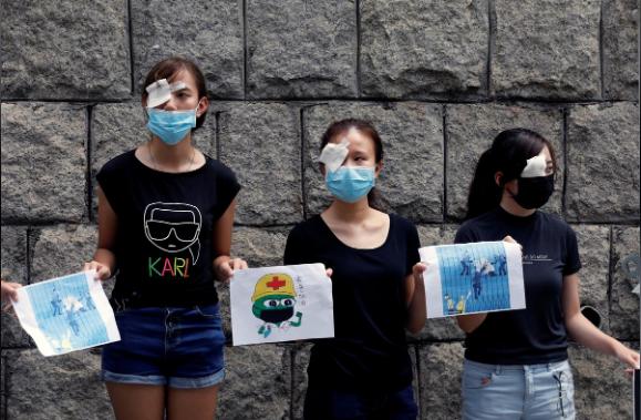 Hong Kong chuẩn bị ứng phó biểu tình vào cuối tuần này - ảnh 2