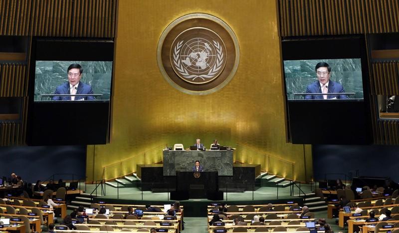 Việt Nam nêu vấn đề biển Đông tại Liên Hiệp Quốc - ảnh 1