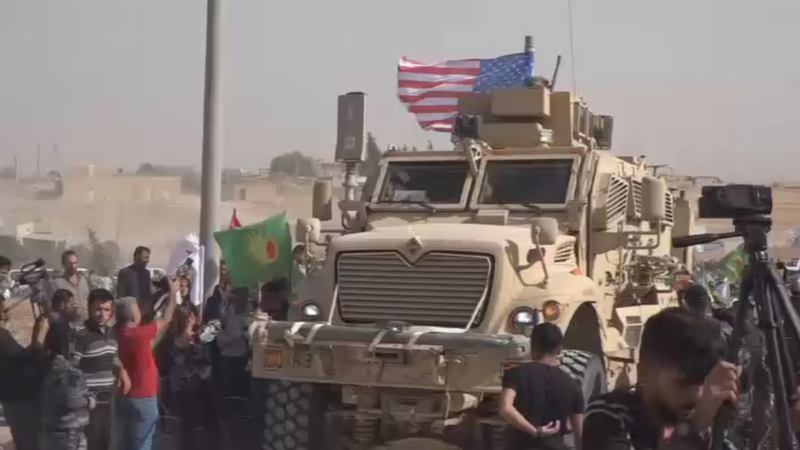 Thổ Nhĩ Kỳ tấn công, người Kurd vây căn cứ Mỹ kêu gọi bảo vệ - ảnh 1