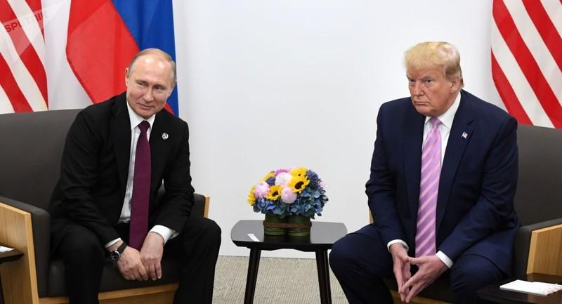 Điện Kremlin tiết lộ về cuộc gặp Trump - Putin - ảnh 1