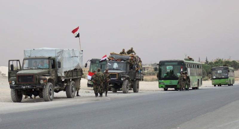 Quân Syria đi vào thị trấn chiến lược ở miền Bắc sau 7 năm - ảnh 1