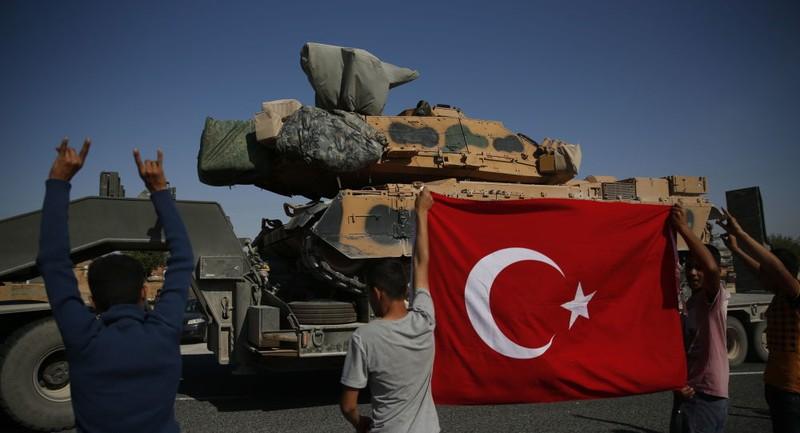 Quân chính phủ Syria bao vây quân Thổ Nhĩ Kỳ ở miền Bắc Syria - ảnh 1