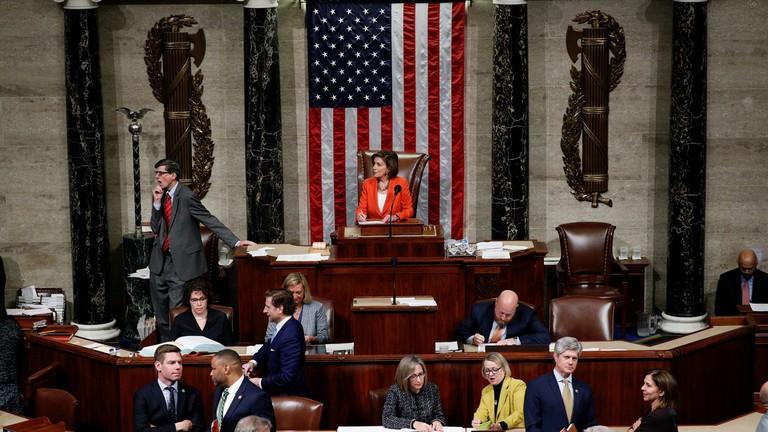 Hạ viện Mỹ thông qua điều tra luận tội Tổng thống Trump - ảnh 1